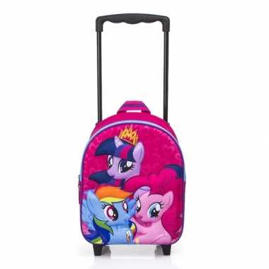 My little pony trolley rugtas fuchsia 3d