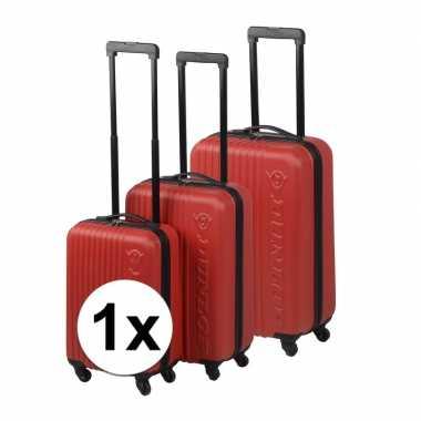 Rode reiskoffer 69 cm