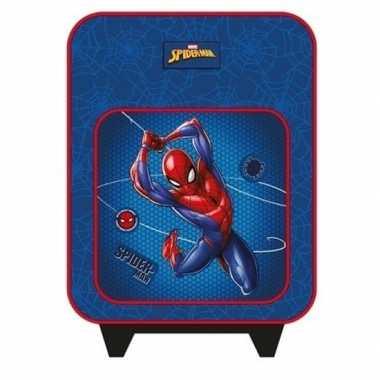 Spiderman handbagage reiskoffer/trolley 35 cm voor kinderen